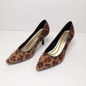 Leopard Faux Fur Heels Predictions 8W